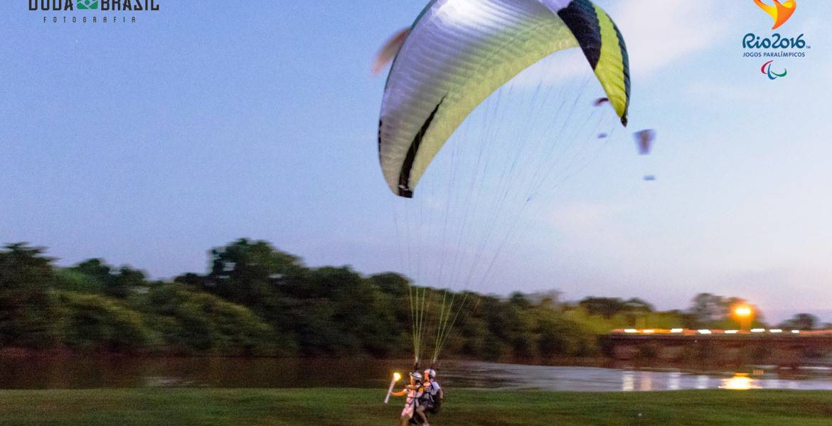 Paragliding goes Olympia