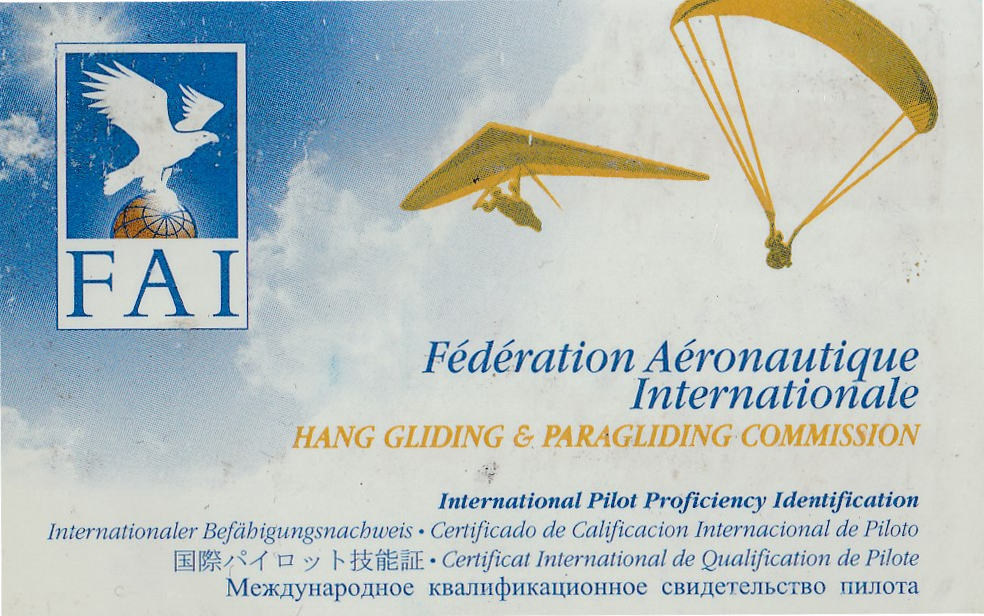 IPPI-Karte (International Pilot Proficiency Information)